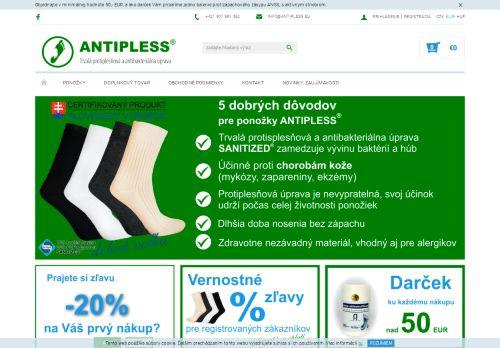 Ponožky ANTIPLESS - Dobrá voľba